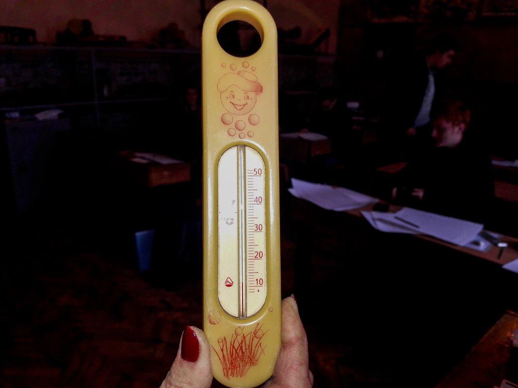 Температура в редких случаях превышает 10 градусов тепла