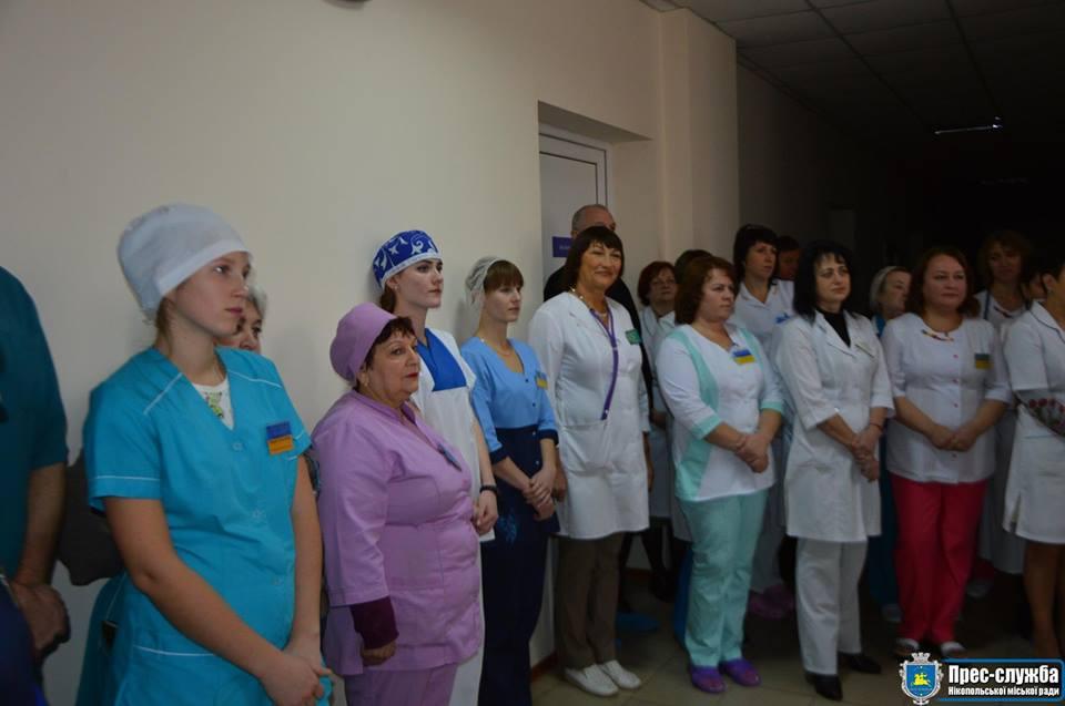 На мероприятии присутствовали сотрудники больницы