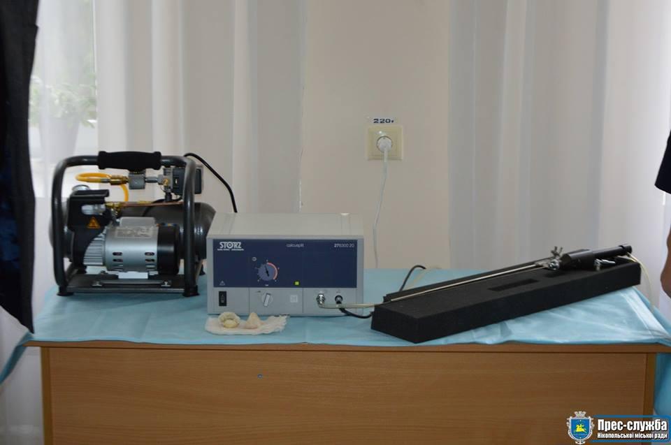 Современный аппарат даст возможность оказывать качественное лечение