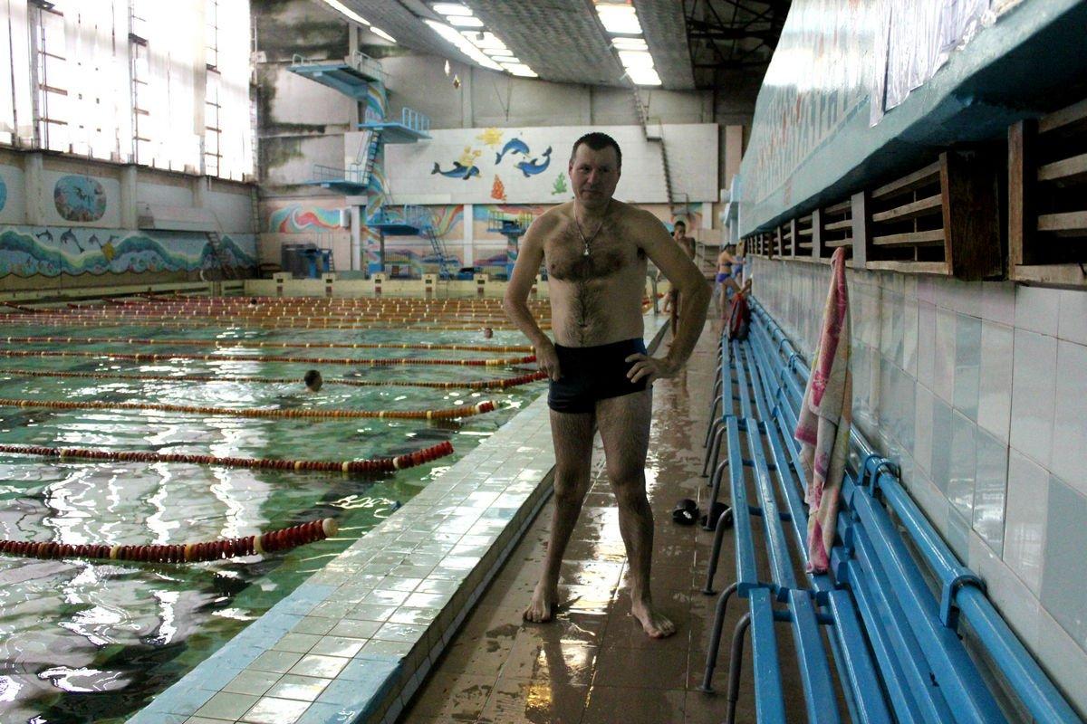 Выходной день в бассейне - не частое удовольствие
