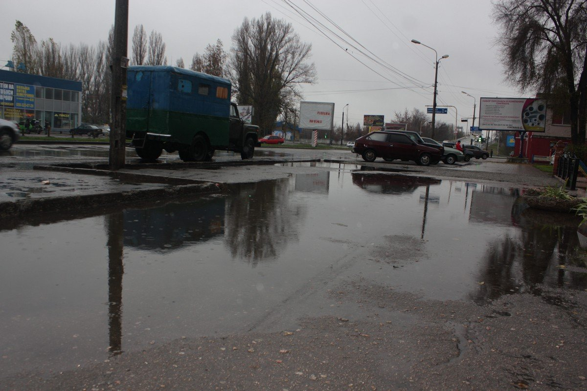 Пешеходная зона напротив автовокзала