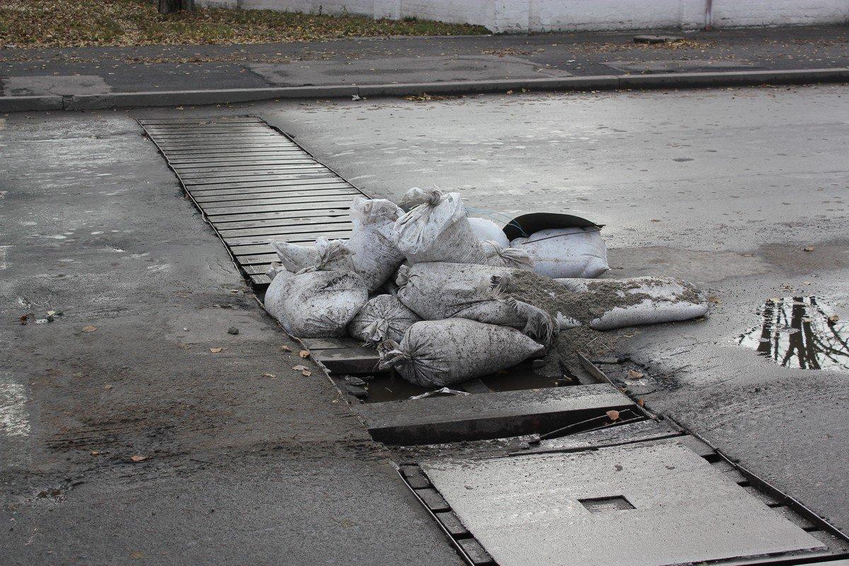 Разруха на дорогах Никополя