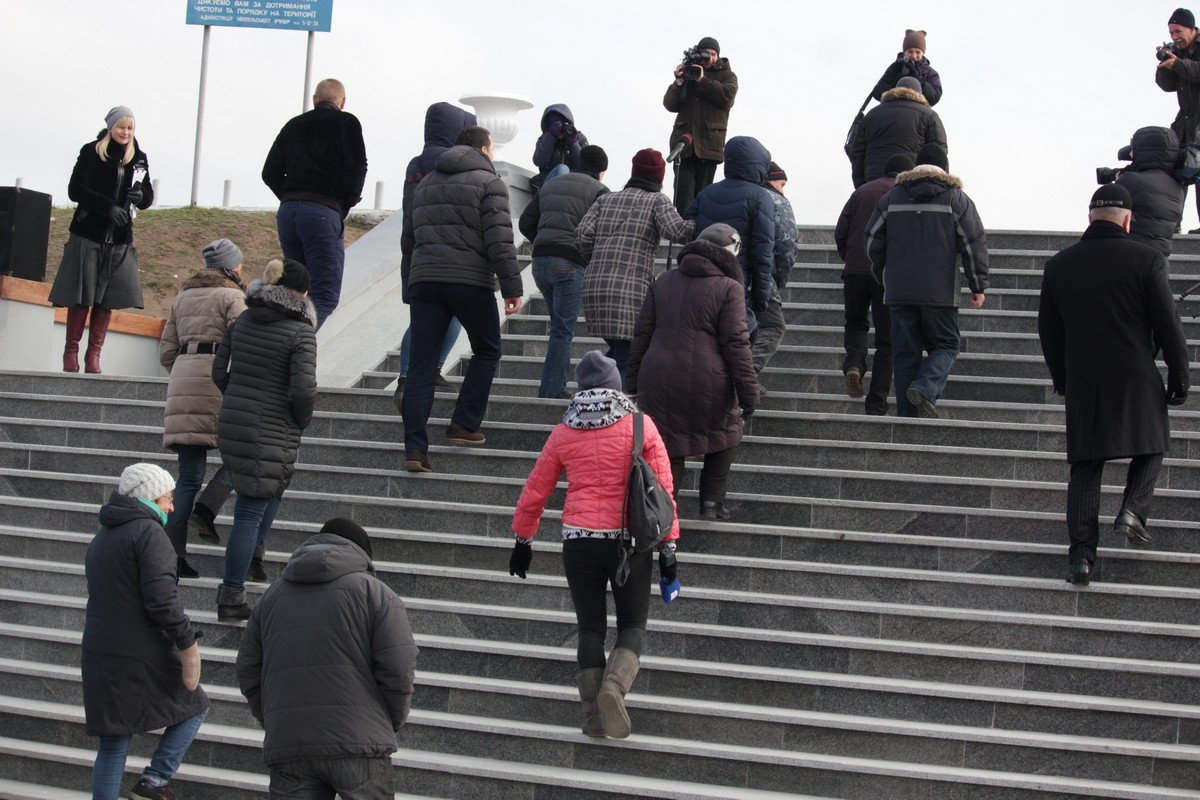 Лестничный марш отреставрирован на благо горожан