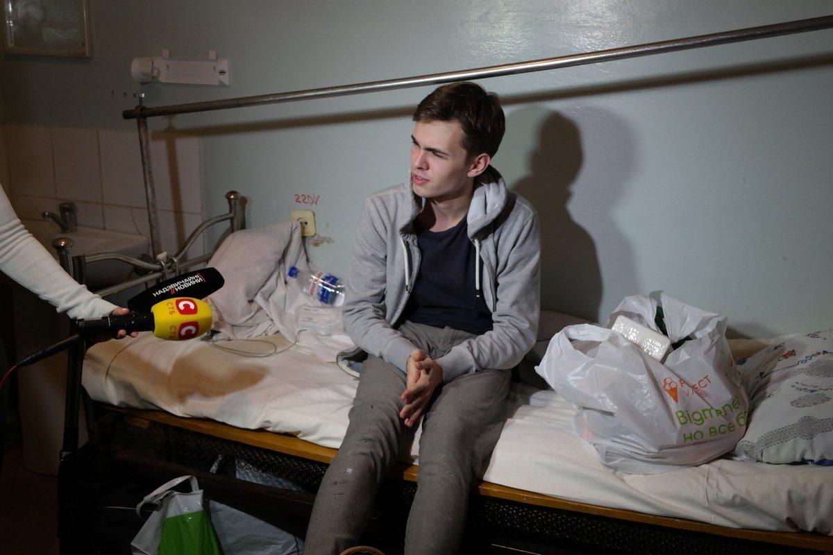 Один из пострадавших - студент