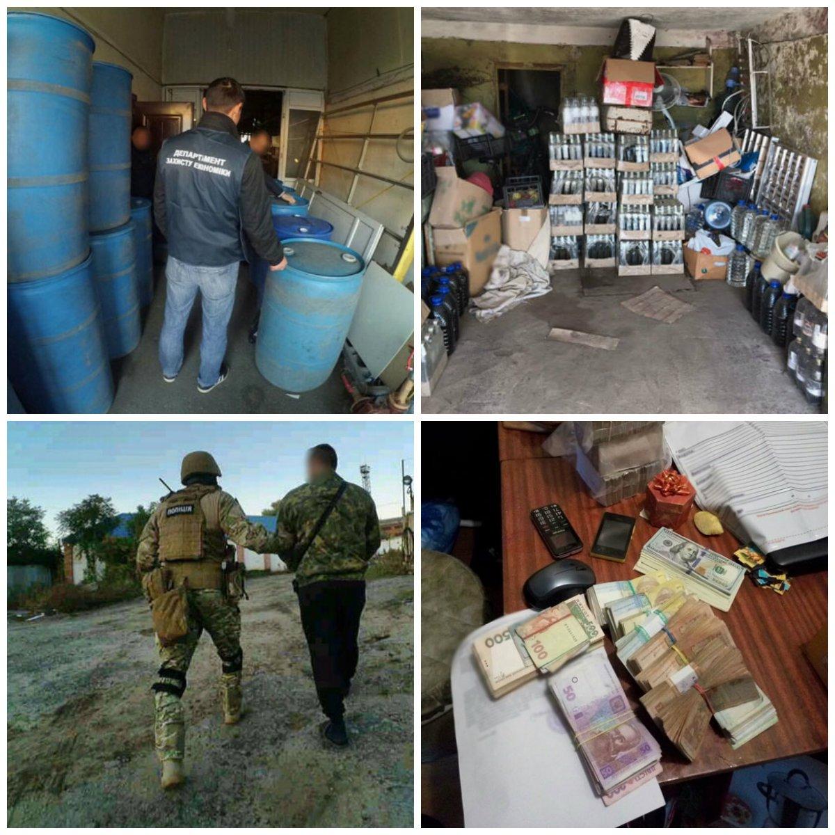 """Подпольный цех ежемесячно приносил """"предпринимателям"""" около 700 тысяч гривен"""