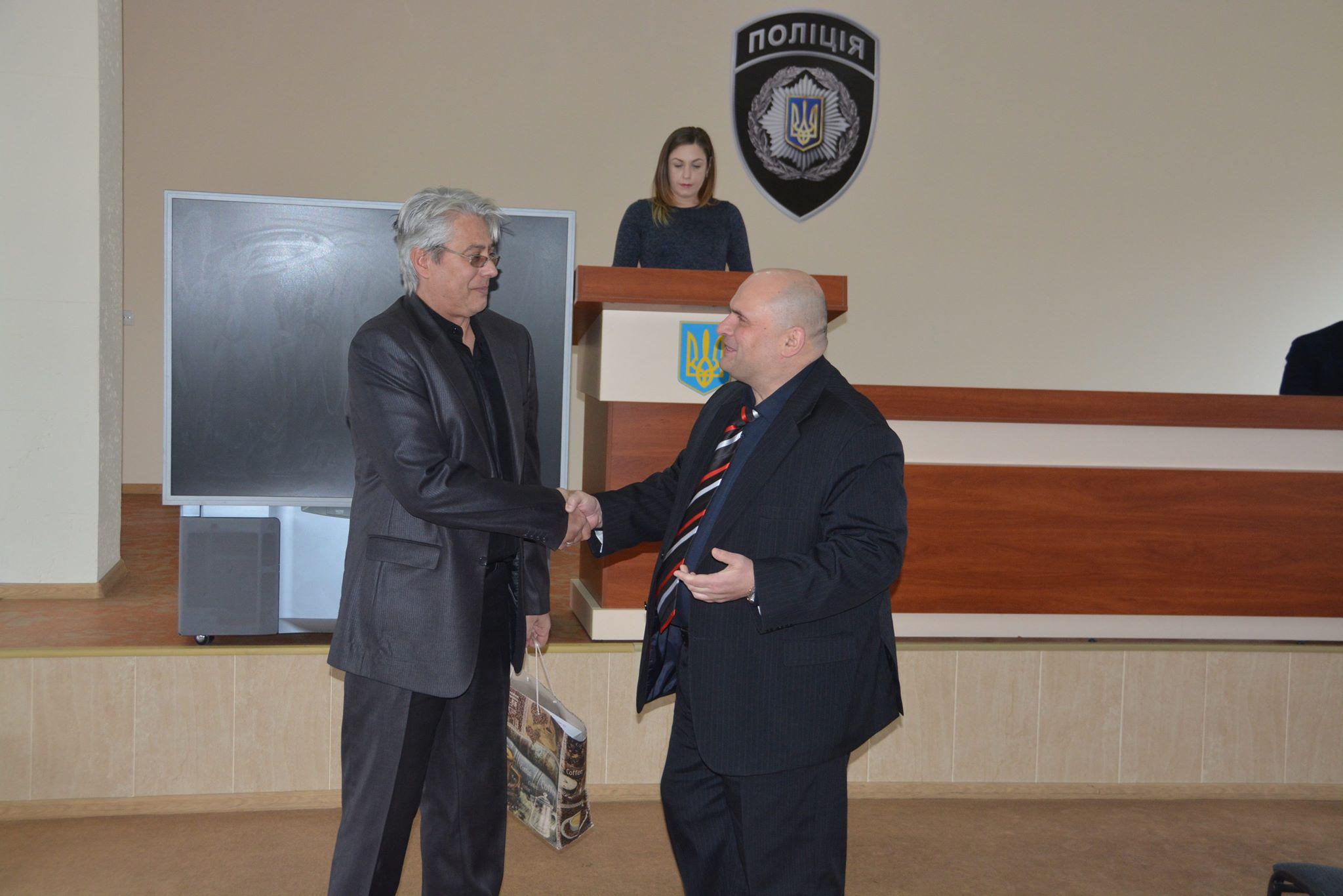Начальник отдела полиции Евгений Кравцов