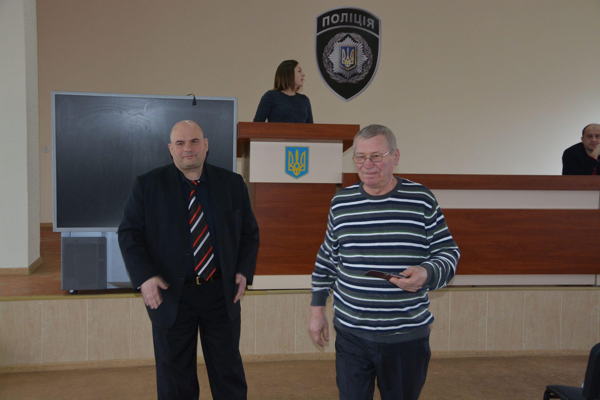 В Никополе чествовали пенсионеров и ветеранов полиции