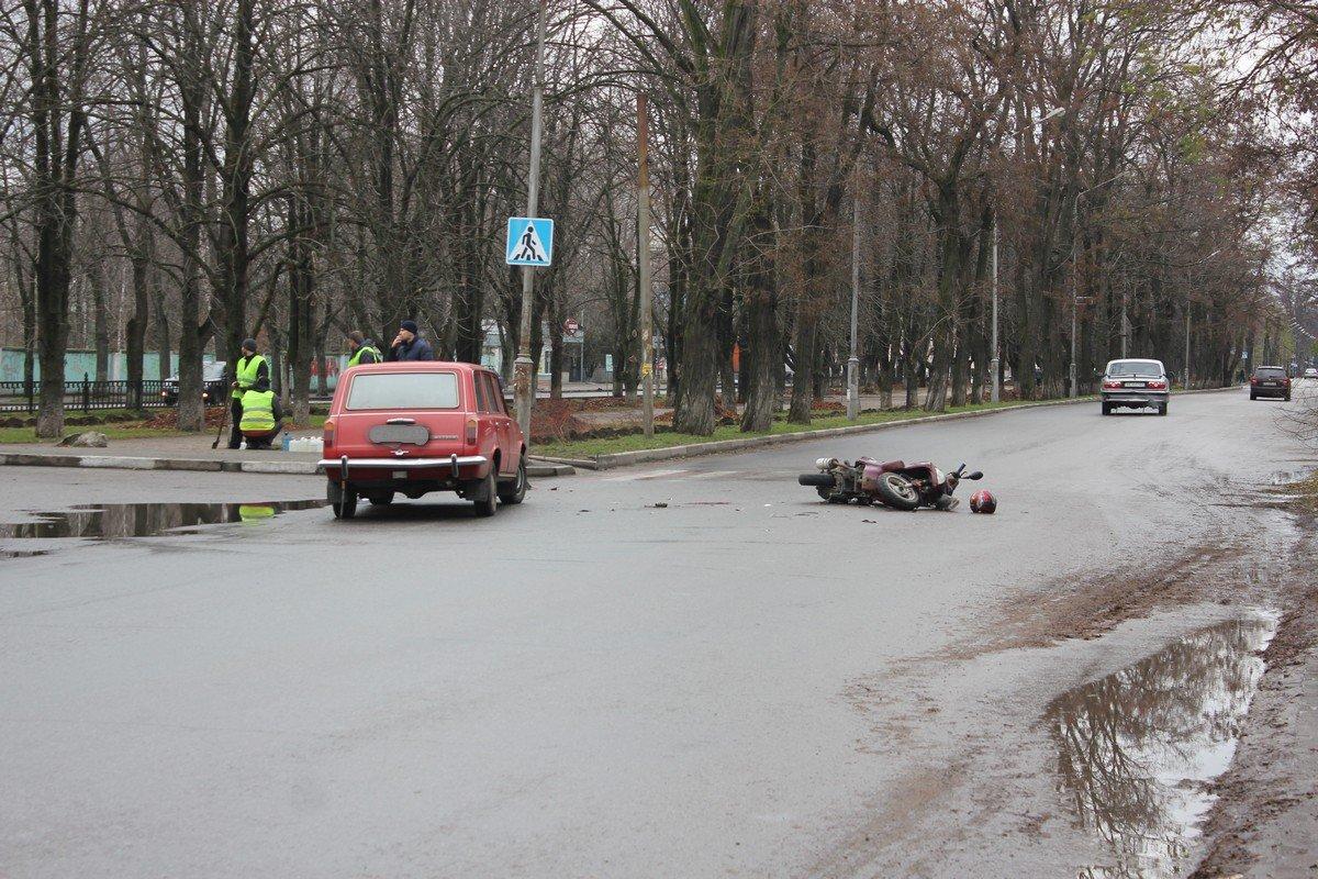 Авария произошла на проспекте Трубников