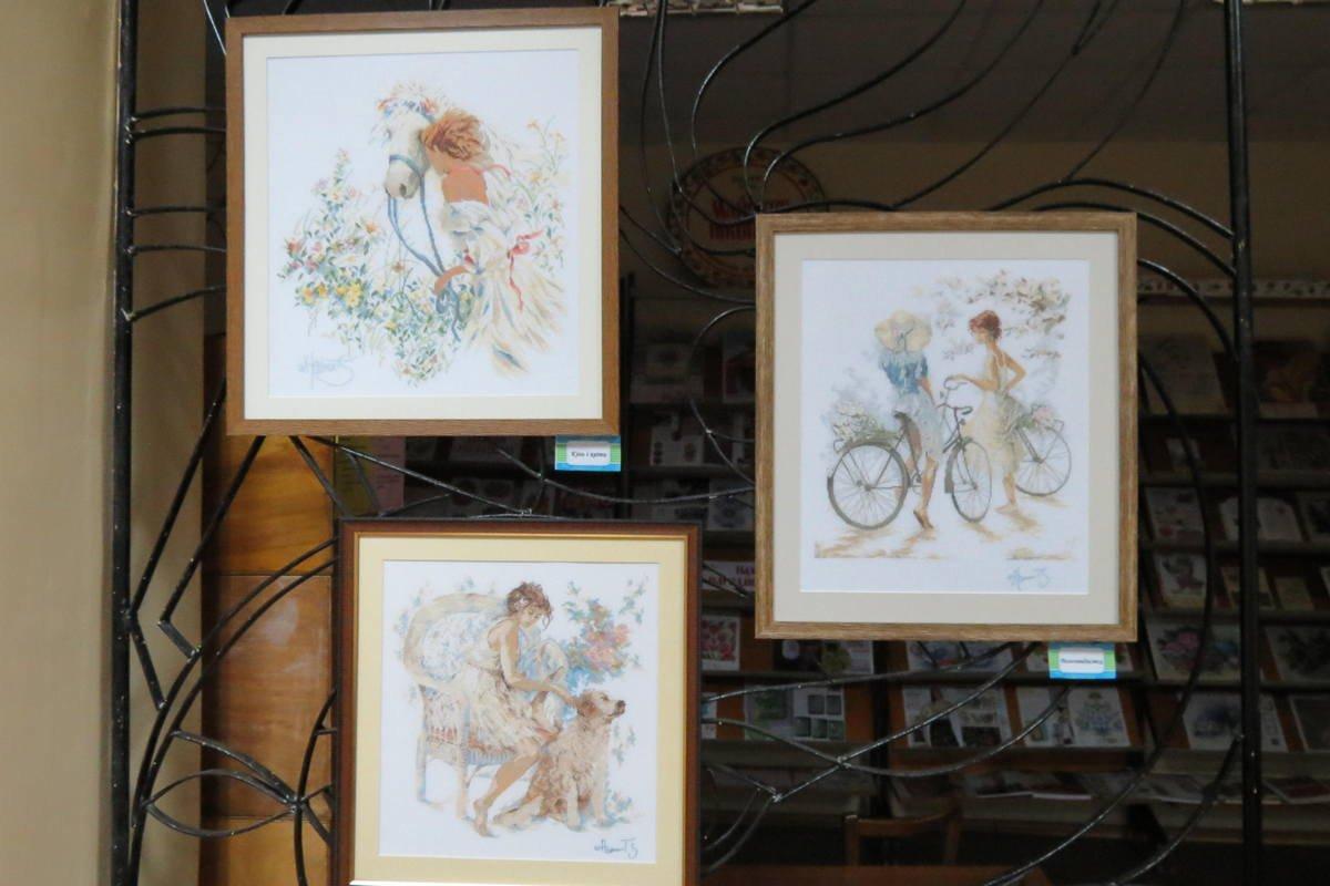 Картины в пастельных тонах