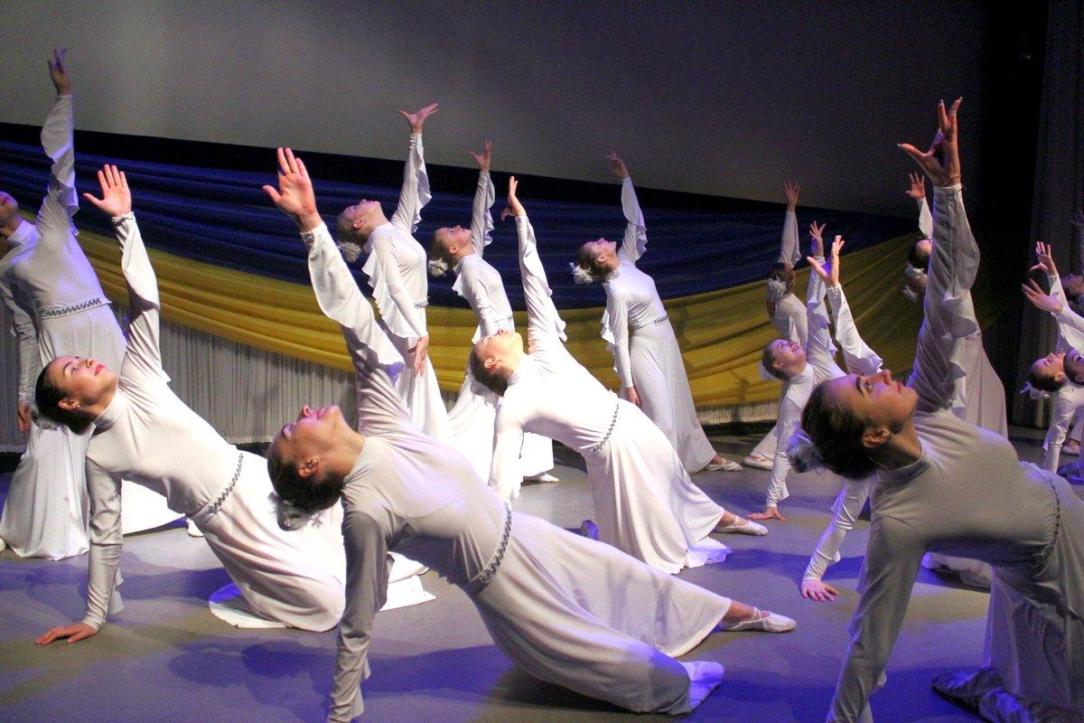 Танец, как молитва о погибших бойцах
