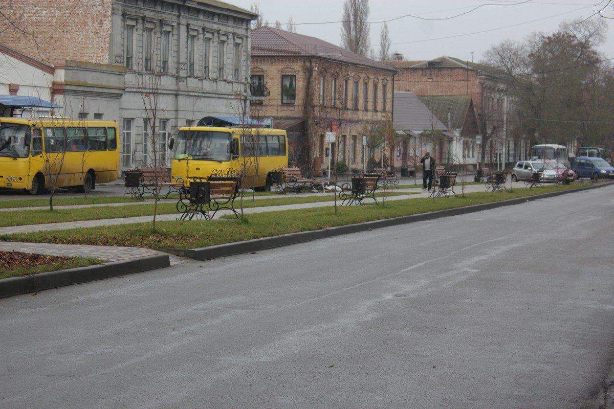 Осенне-зимние улицы Никополя