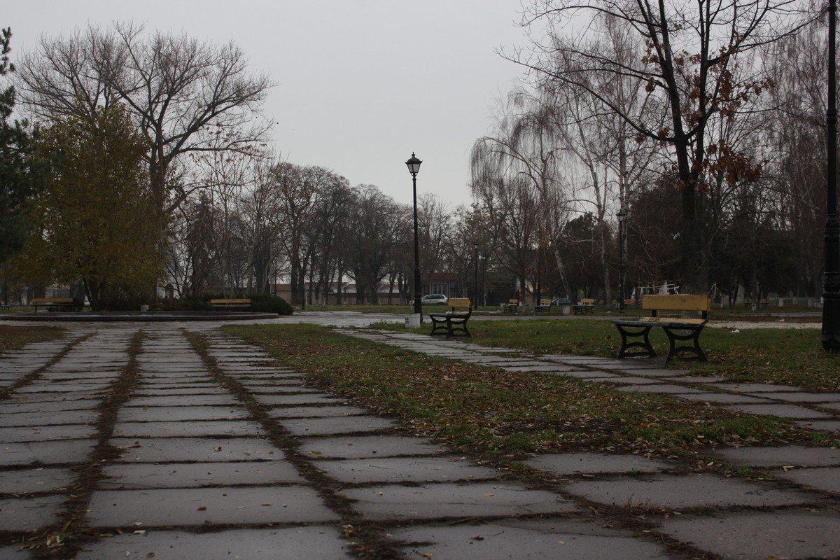 Сквер в старой части города