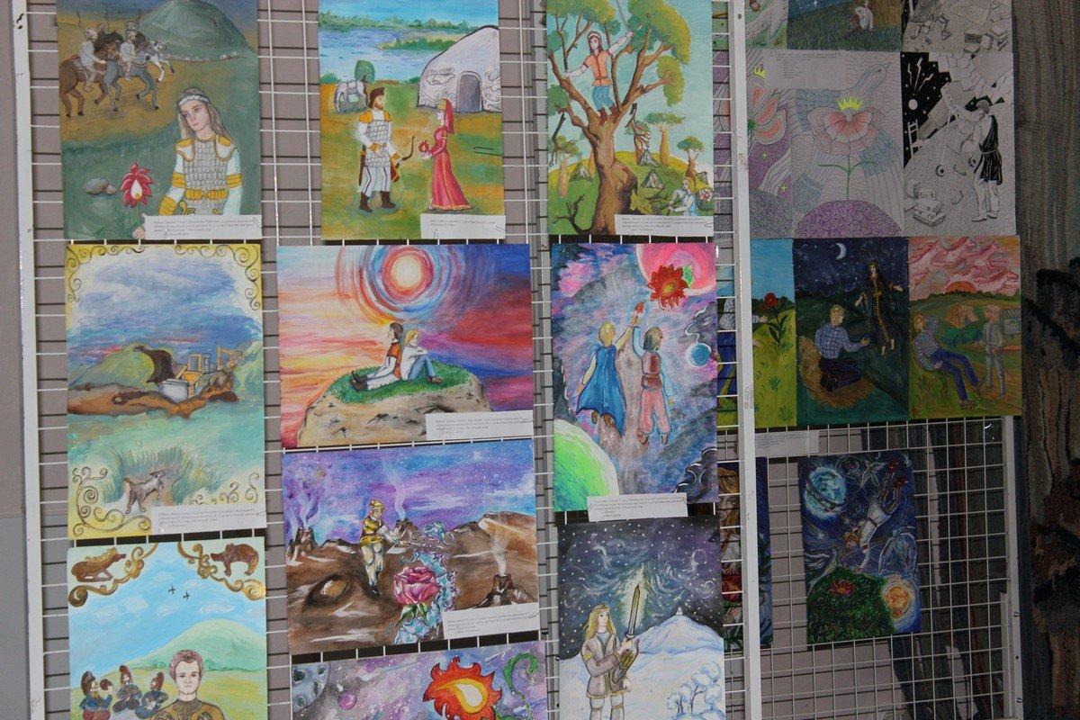 Творчество воспитанников художественной школы