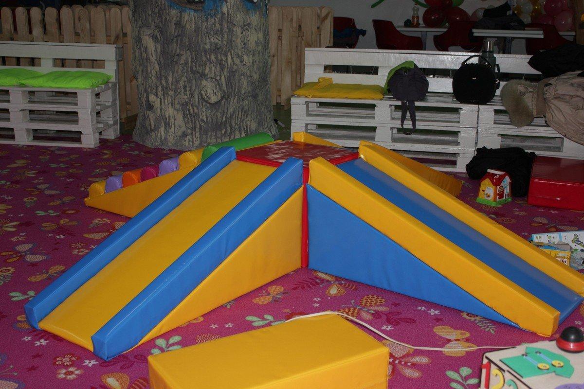 Мягкие игровые модули для детей помладше