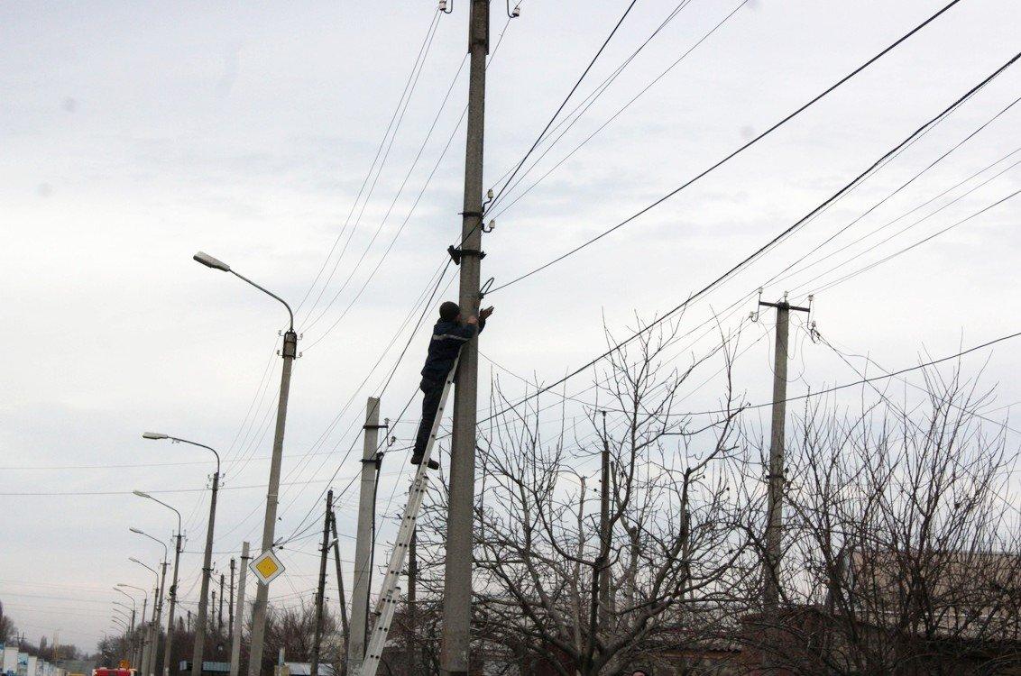 В Никополе установили камеры наружного видеонаблюдения