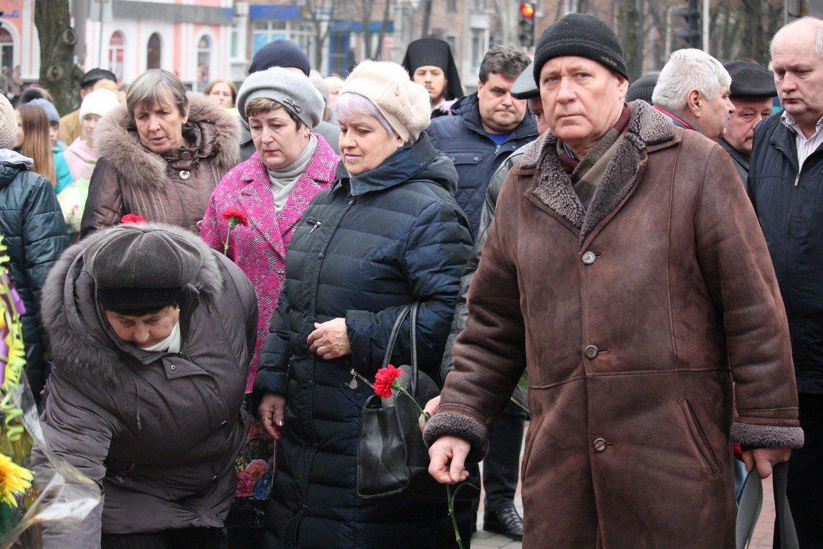 Никопольчане - родственники погибших чернобыльцев