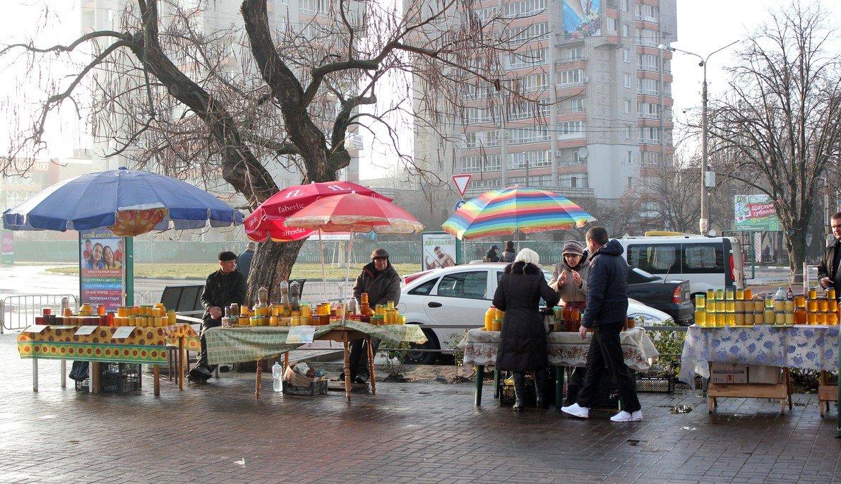 Ярмарка около ЦУМа стала традиционной