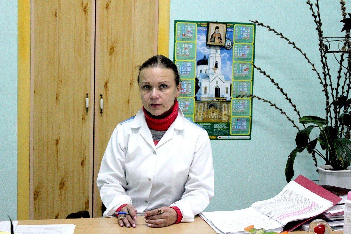 Главврач Никопольского противотуберкулезного диспансераЛолите Леус