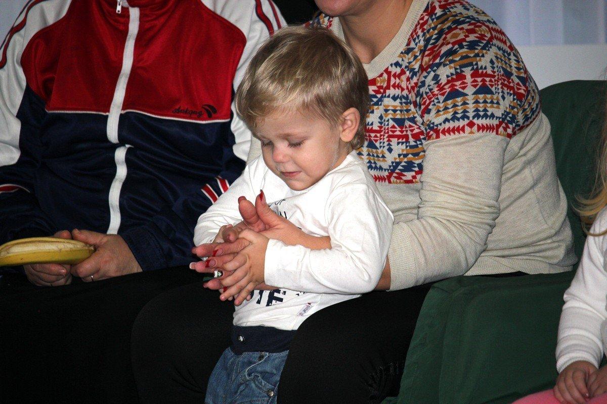 Мамины руки самые теплые