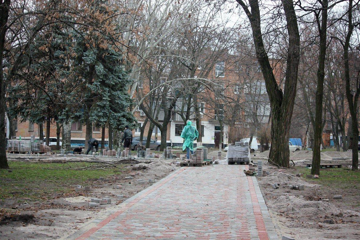 Сквер на площади Независимости