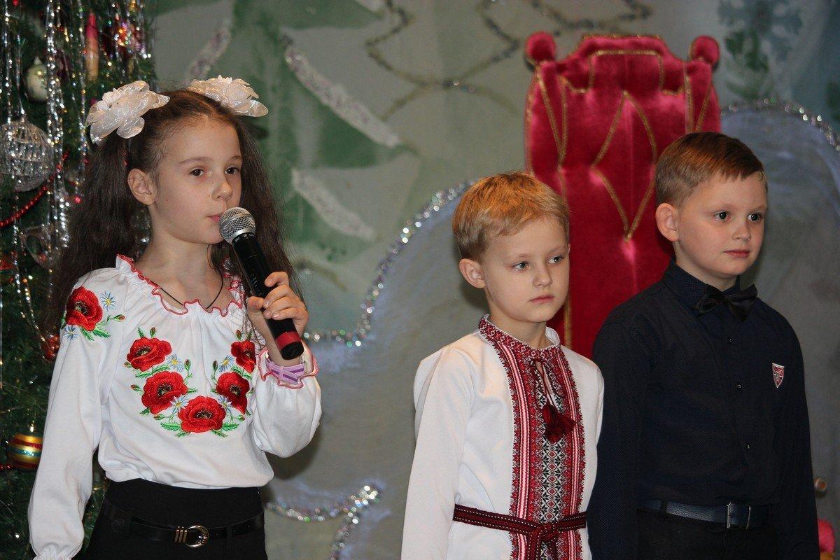 Дети подготовили новогоднюю сказку о Святом Николае
