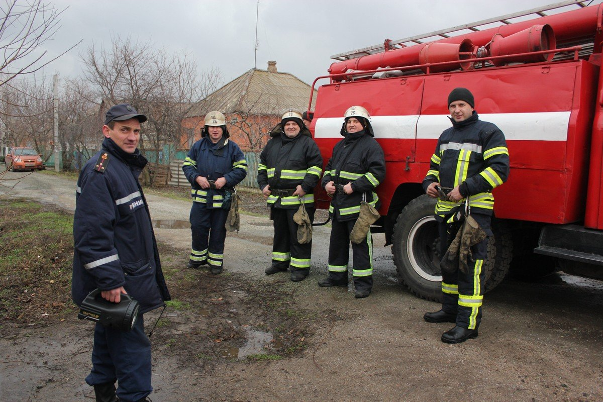 Личный состав пожарно-спасательной части сработал оперативно