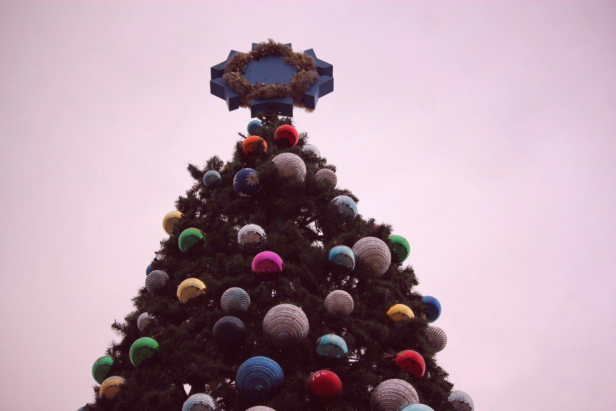 Макушка елки