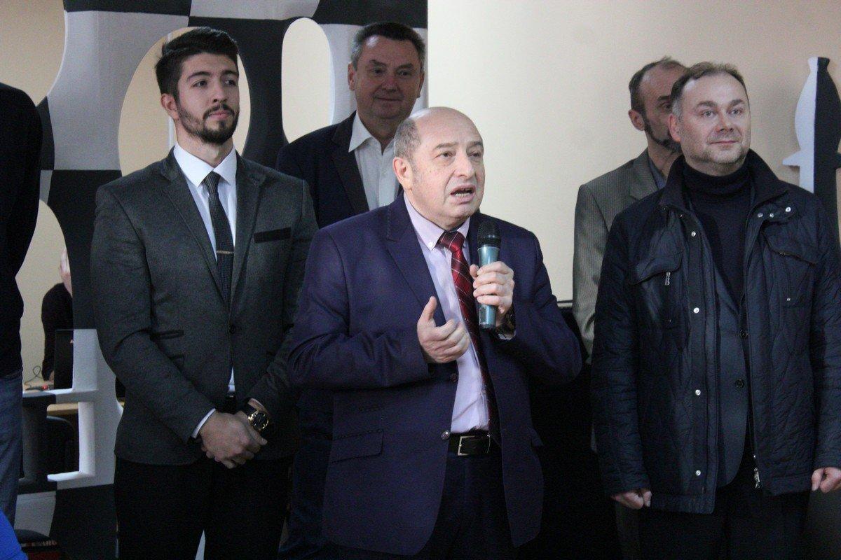 Президент шахматно-шашечной федерации области