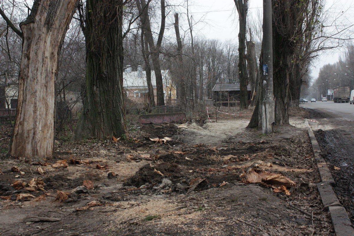 Улица Героев Чернобыля, район железнодорожного вокзала