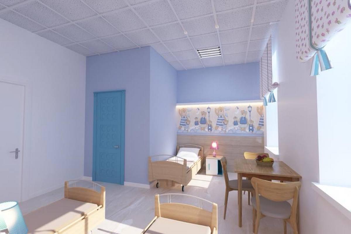 Палаты для маленьких пациентов