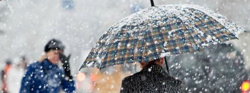 Мокрый снег, дождь и плюсовая температура: какая погода будет в Никополе на следующей неделе