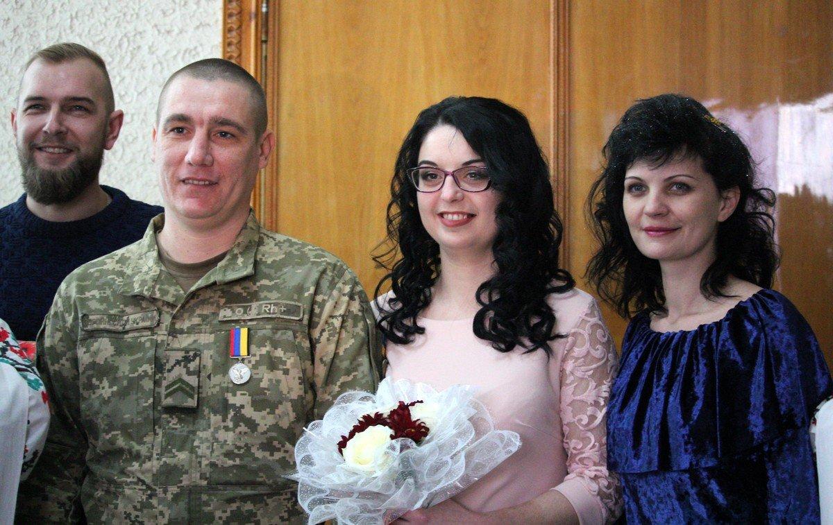 Молодожены Иван и Анастасия