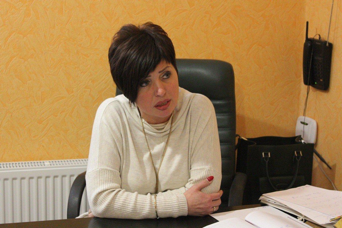 Главный врач больницы Елена Соломаха