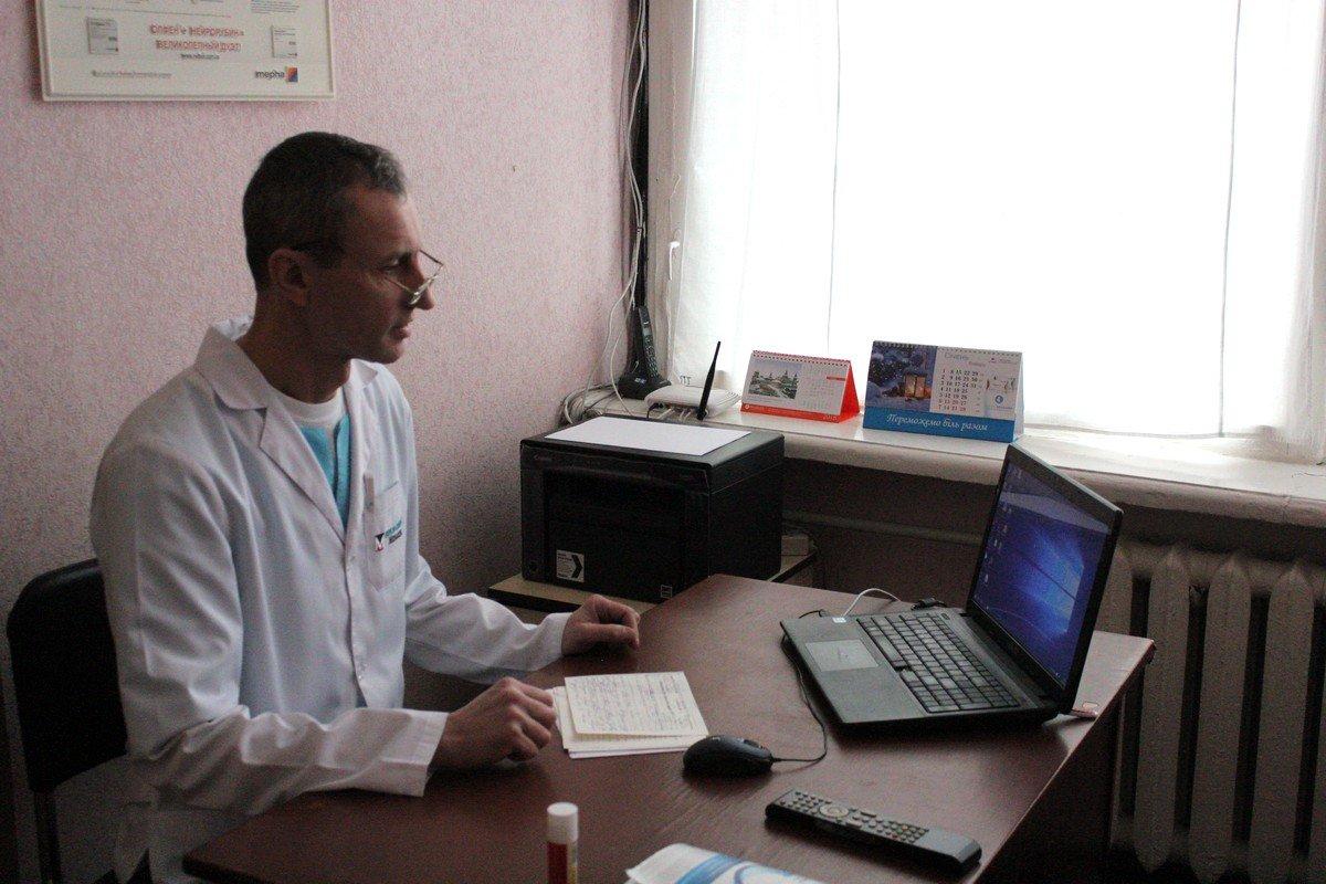 Заведующийтравмпунктомбольницы №1 Валерий Костовский