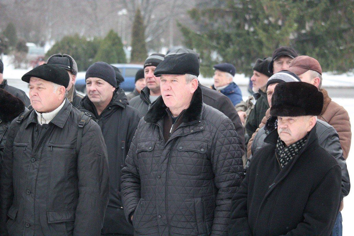 90% митингующих получают минимальную пенсию до 2000 гривен в месяц
