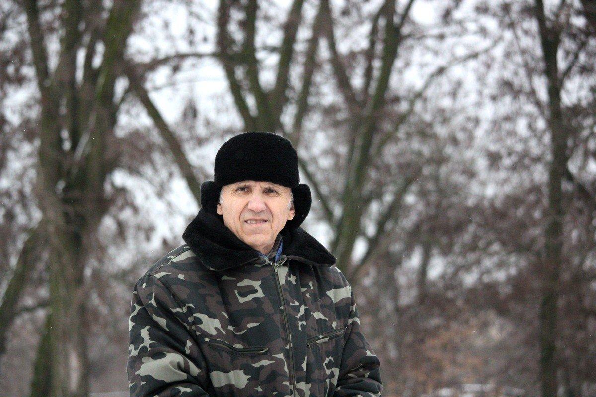 Ветеран МВД Никопольского оперативного региона Яков Дрозд