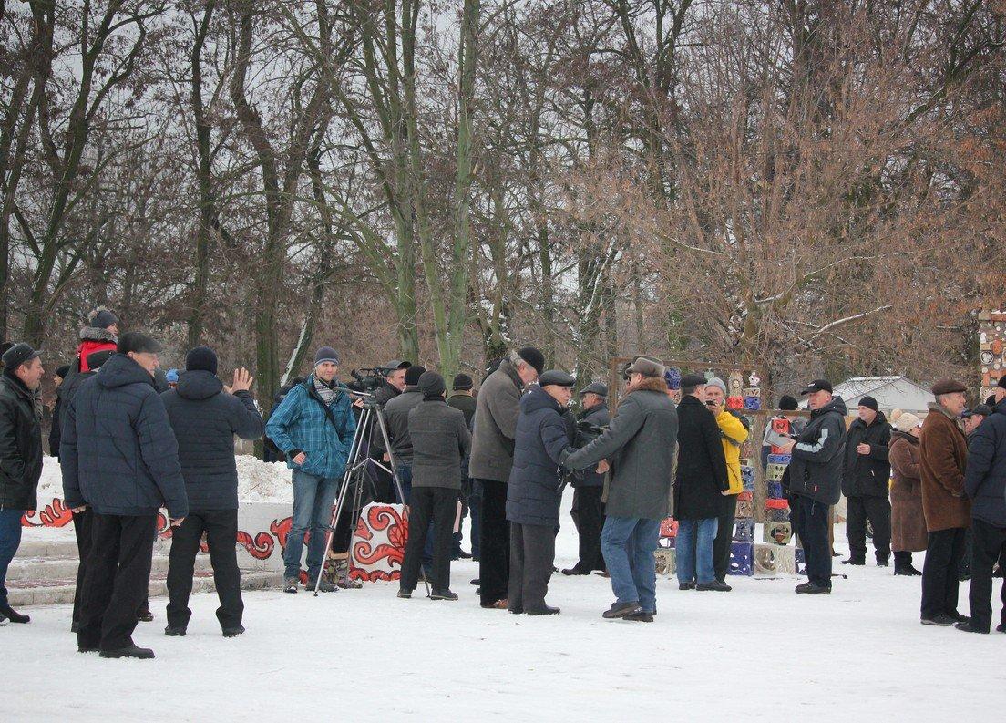 Поддержать ветеранов пришли пограничники и сотрудники других силовых структур