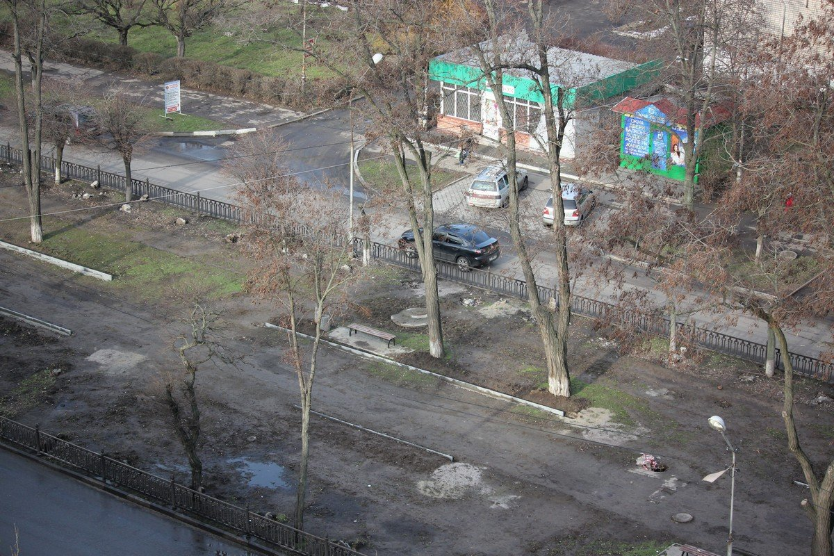 Сквер на проспекте Трубников