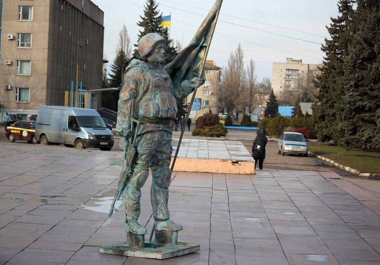 Над изваянием скульптор трудился практически год