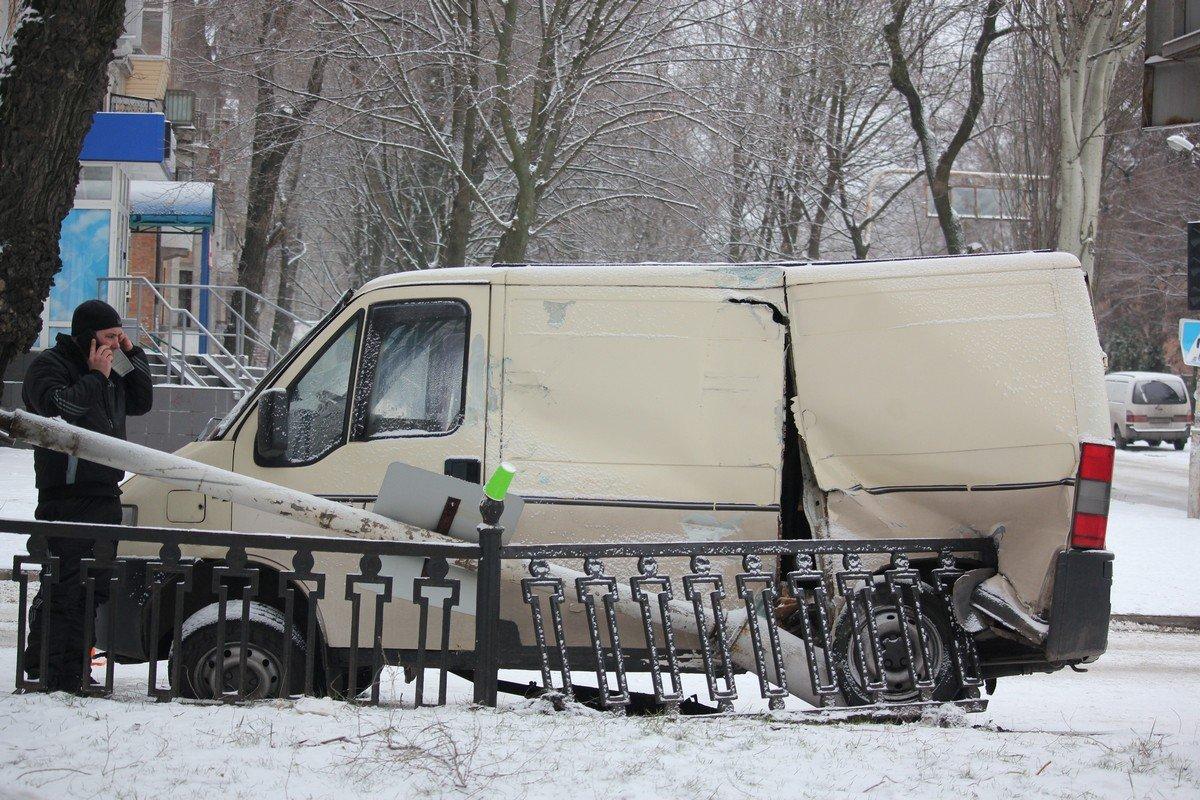 Fiat Doblo получил серьезные повреждения