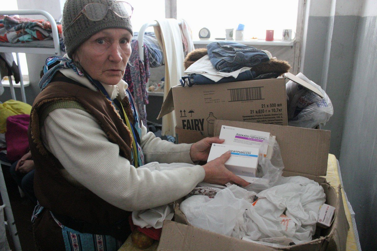 В приюте помогают бездомным поправить здоровье