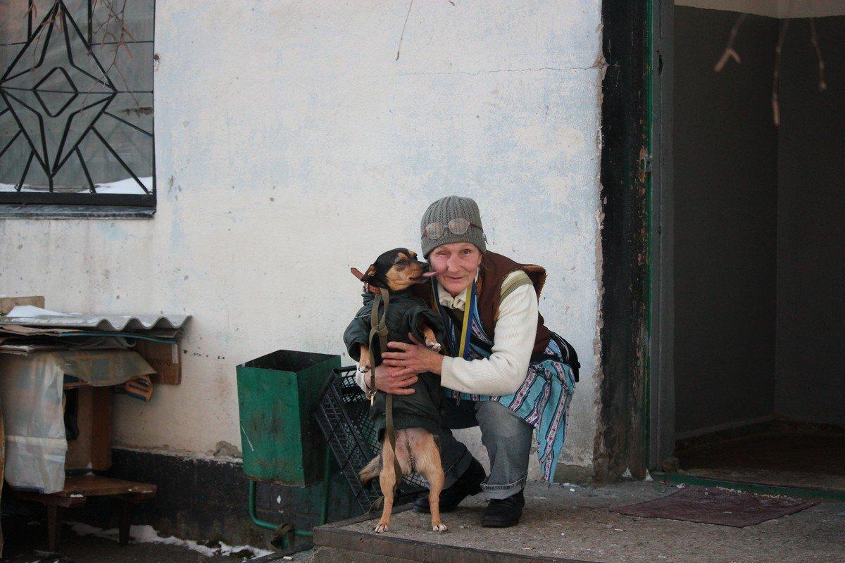 Собака - самый верный и преданный друг, который согреет бездомного в морозные дни и ночи