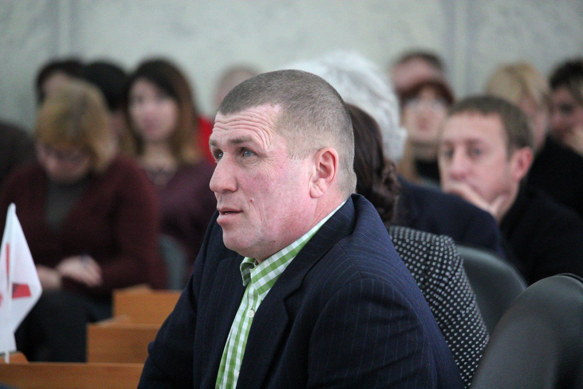Депутат Александр Разин