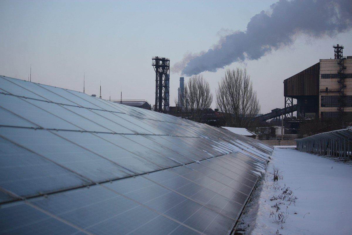 В Никополе открыли самую мощную в области солнечную электростанцию