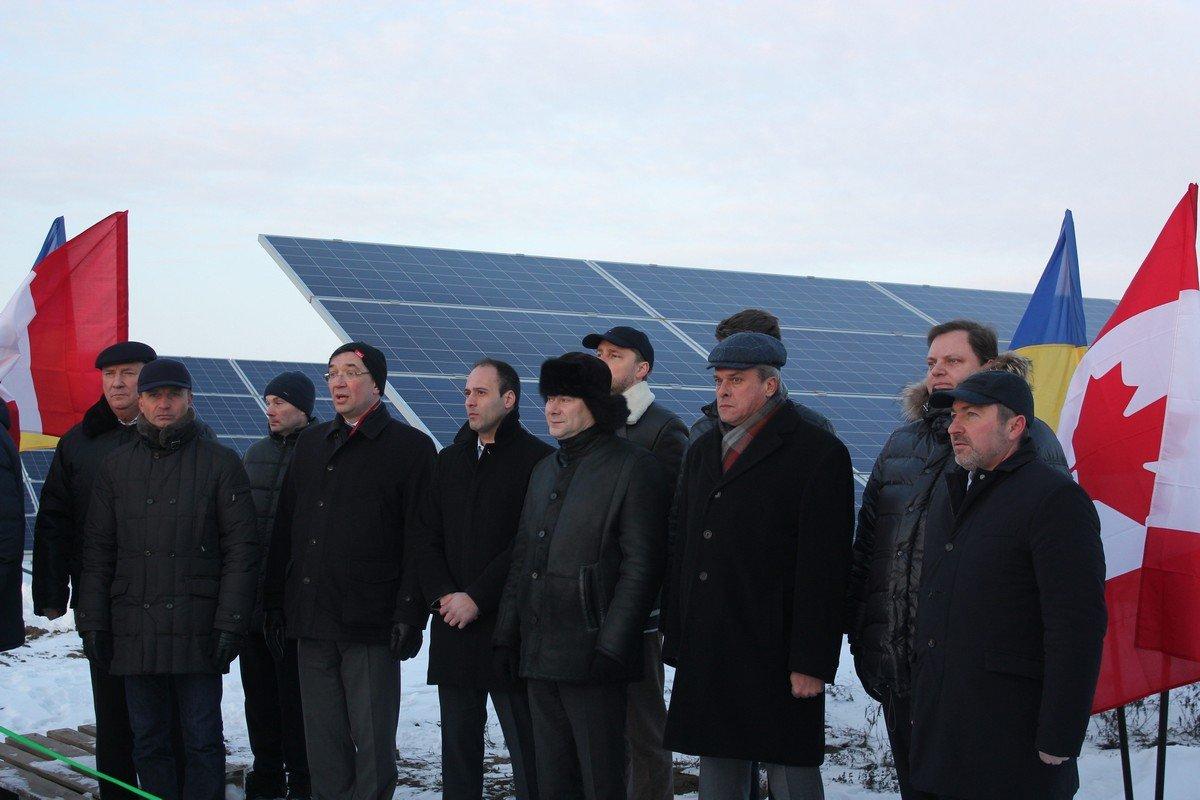 Прозвучал гимн Канады и Украины