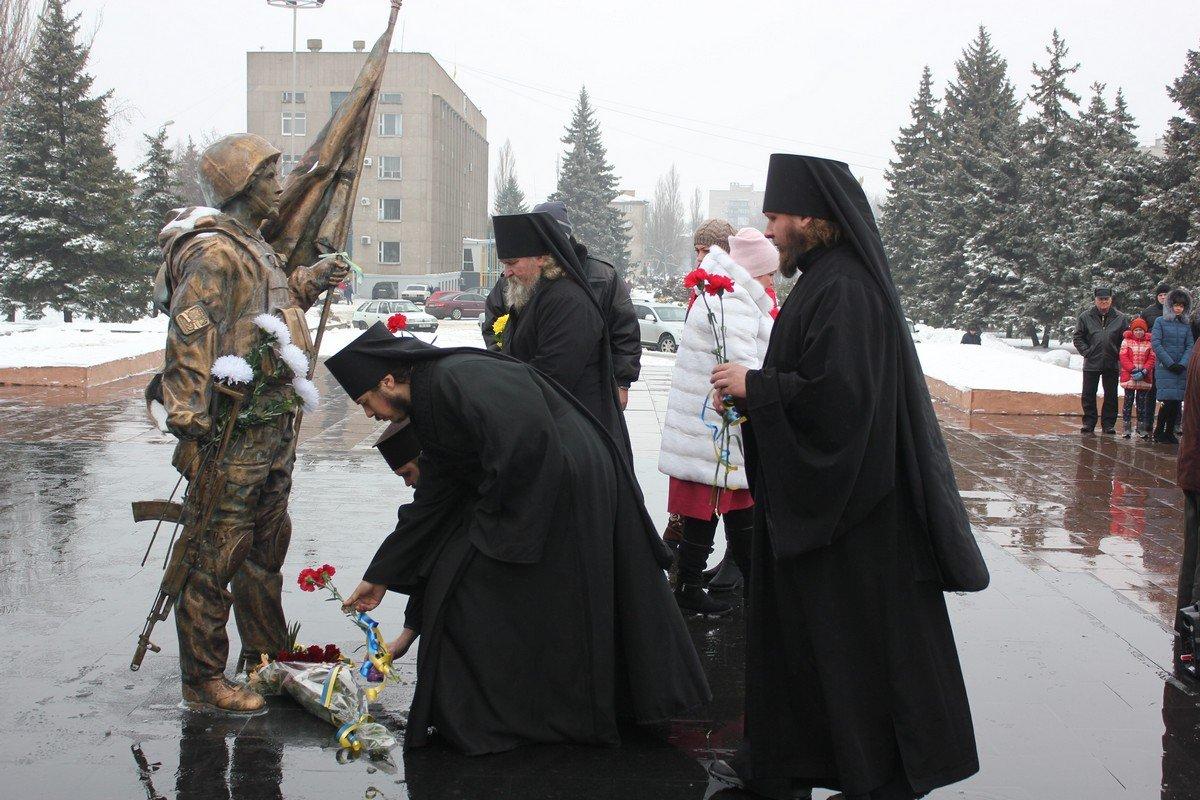 В Никополе минутой молчания почтили память героев Крут