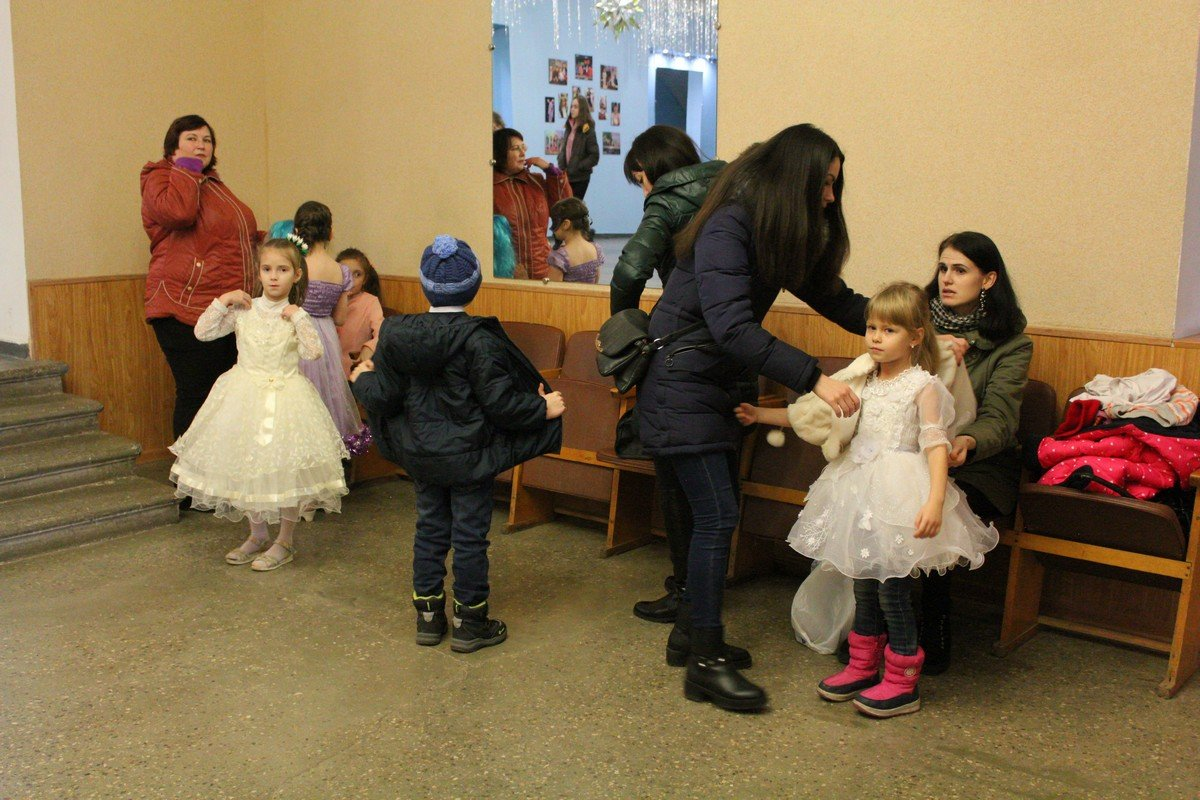Малыши готовятся к празднику