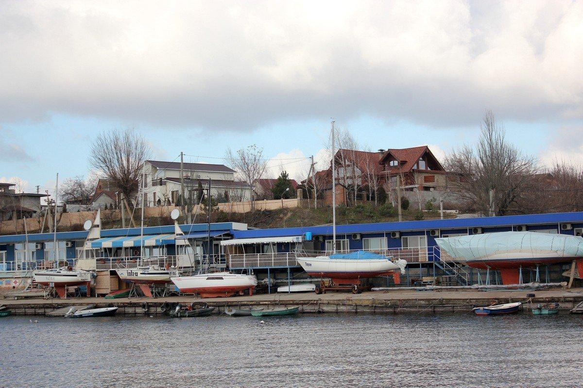 Владения Никопольского яхт-клуба