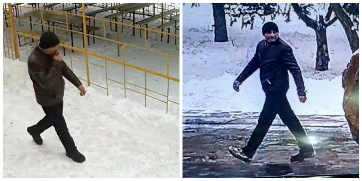 Личность грабители установили по камерам видеонаблюдения