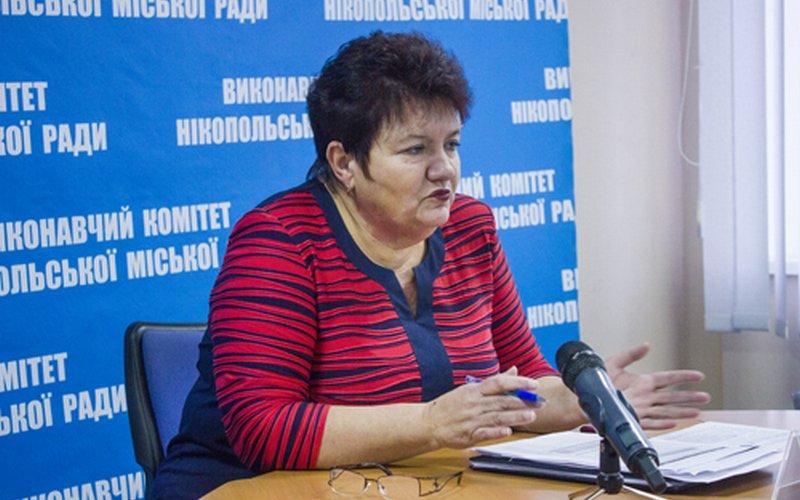 Начальник финуправления Елена Давыдко